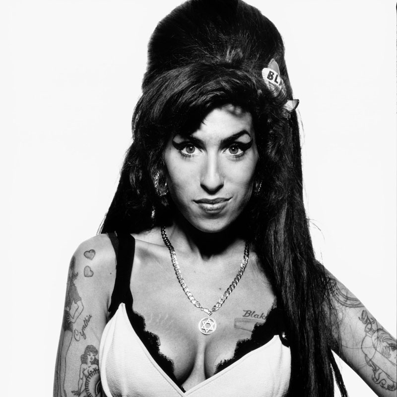 (Publicist Approval Needed) LONDON: Singer Amy Winehouse poses for a portrait shoot in London for Sunday Times magazine on June 4, 2008. (Terry O'Neill/Contour by Getty Images)