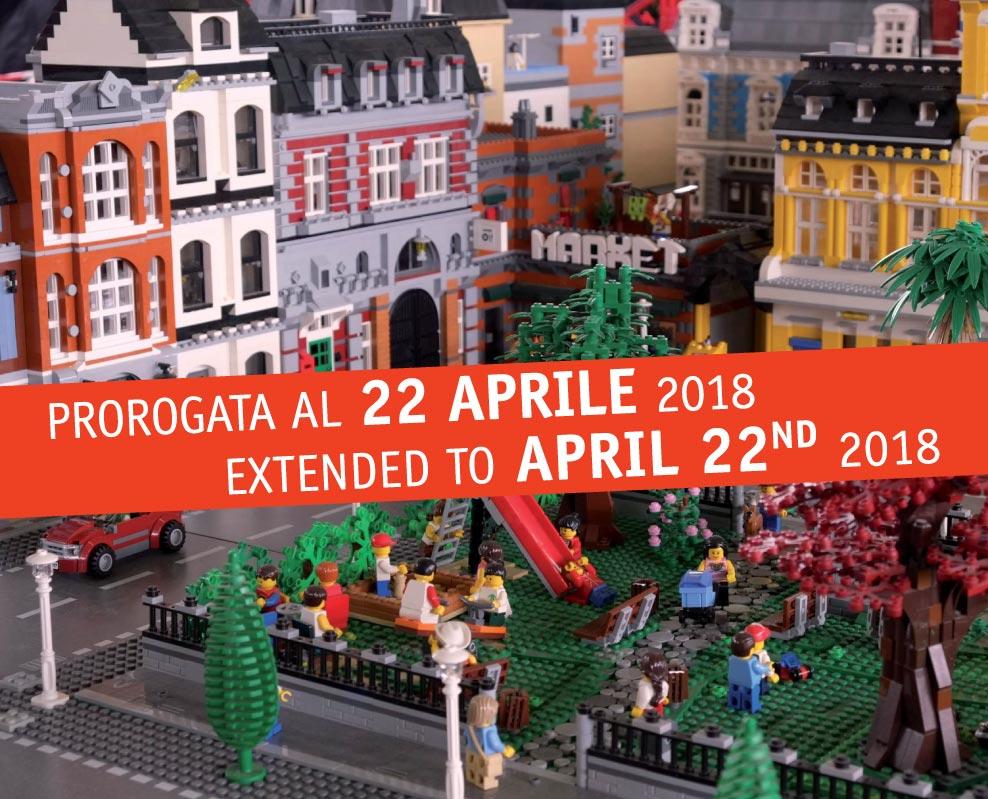 I LOVE LEGO. Fino al 22 aprile 2018