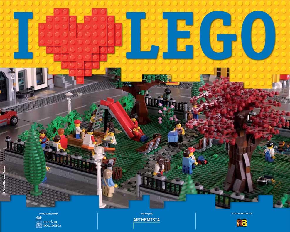 I LOVE LEGO. Follonica 14 luglio - 20 settembre 2019