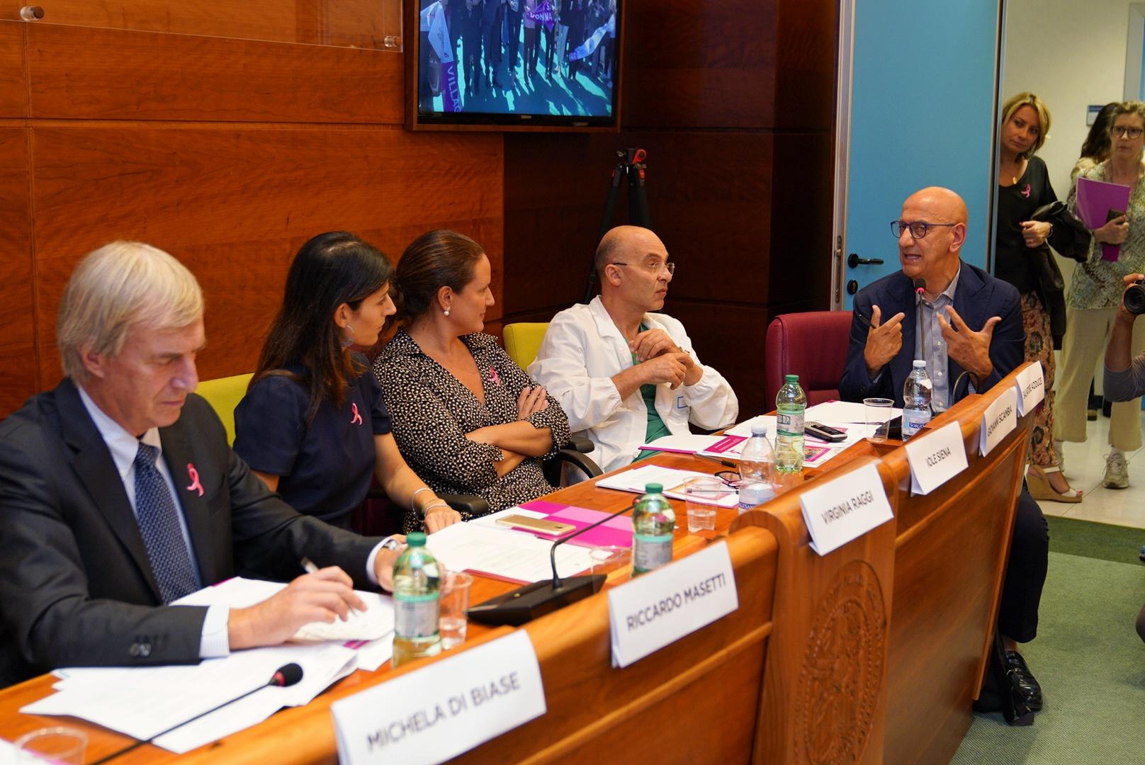 R. Masetti, V. Raggi, I. Siena, G. Scambia, S. Adduce