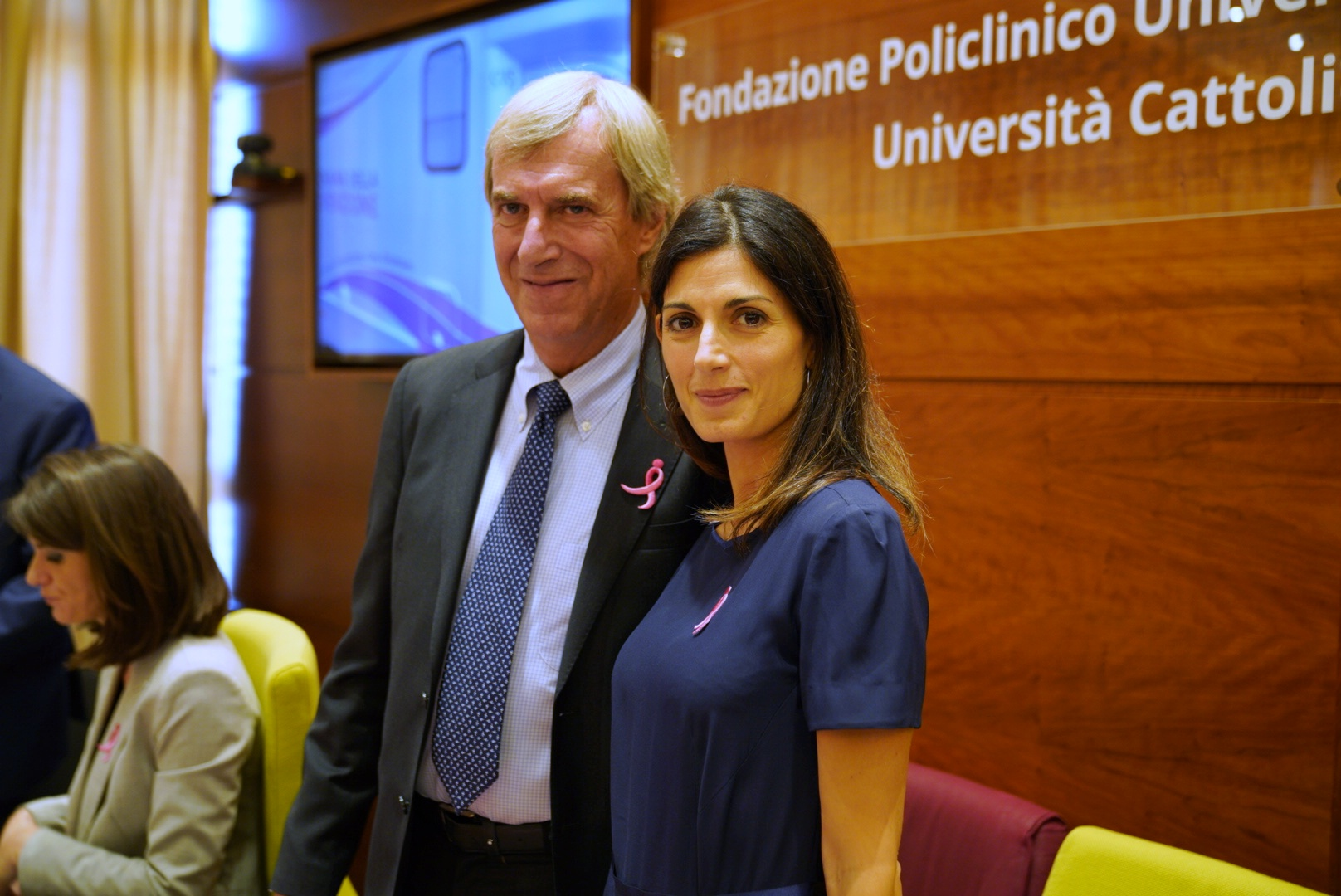 Riccardo Masetti e Virginia Raggi