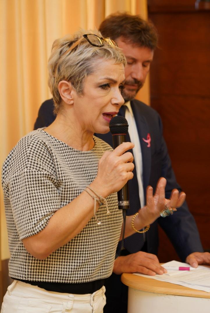 Rossana Banfi, Madrina Komen Italia