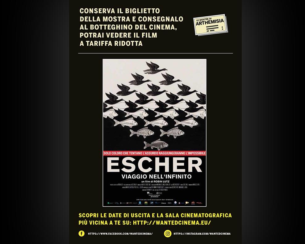 Locandina della promozione Escher - il Film