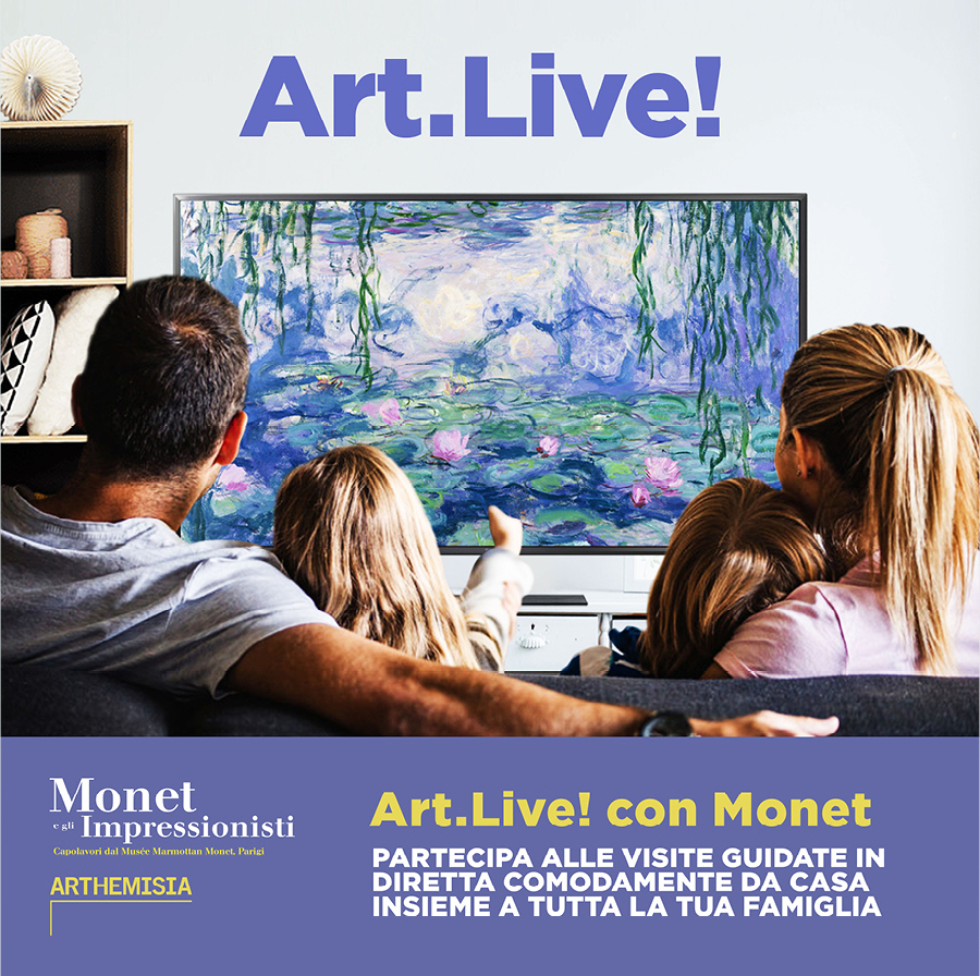 Art Live! con Monet