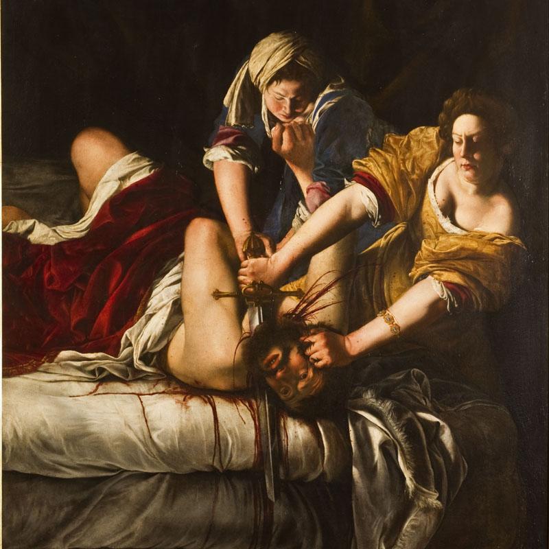 06_Giuditta taglia la testa di Oloferne